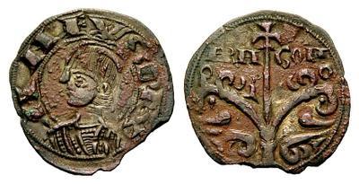 Dinero de Pedro I de Aragón 1269850.m