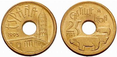 El porqué de los agujeros en los 25 céntimos de peseta de Alfonso XIII 427292.m