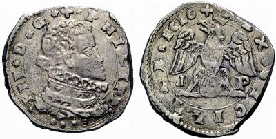 4 taris de Felipe III de Sicilia año 1616 632880.m