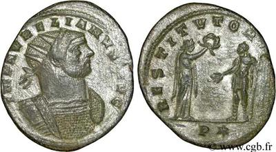 Antoniniano de Aureliano. RESTITVTOR ORBIS. Cycico  49040.m