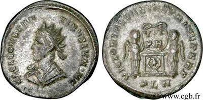 Antoniniano de Aureliano. CONCORDIA MILITVM. Siscia 49243.m