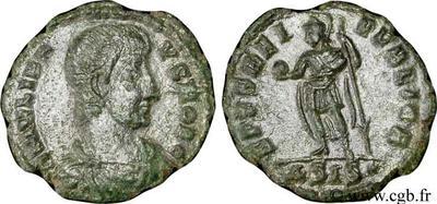 AE4 de Juliano II. SPES REI PVBLICE. 49292.m