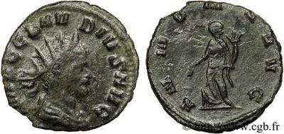 Antoniniano de Claudio II. ANNONA AVG. Roma 50110.m