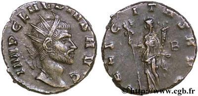 Antoniniano de Claudio II el Gótico. FELICITAS AVG. Roma 51465.m