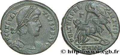 nummus de Constans II pour Nicomédie 60743.m