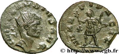 Antoniniano de Claudio II. MARTI PACIF. Roma. 65102.m