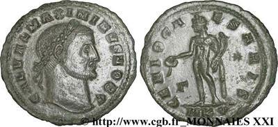 Nummus de Maximino II Daia. GENIO CAESARIS. 181168.m