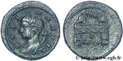 AE4 conmemorativa del pueblo de Roma. Constantinopla. 310794.m