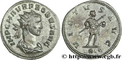 Aureliano de Probo. VIRTVS AVG. Roma 366044.m