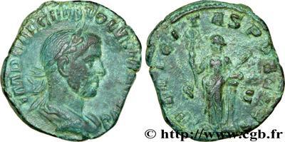 sestercio de Volusiano año 251-253 422407.m