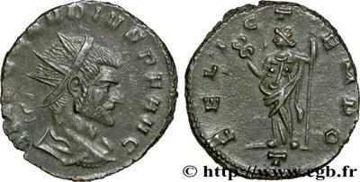 FELIC TEMPO  de Claudio II 422423.m