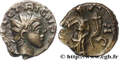 Antoniniano de cuño bárbaro de Tétrico II. 422455.m