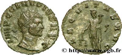 Antoniniano de Claudio II. AEQVITAS AVG. Roma 608849.m