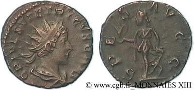 Antoniniano de cuño bárbaro de Tétrico II. 85091.m