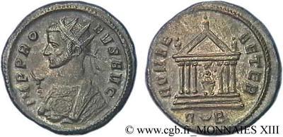Antoniniano de Probo. ROMAE - AETER. Roma. 85161.m