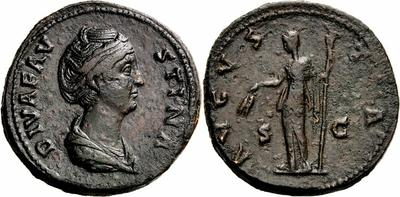 Sestercio de Faustina I. AVGVSTA - Ceres. Roma 1243236.m