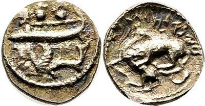 1/16 de shekel. Biblos. 348-332 a.C. 2532556.m