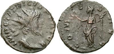 Antoniniano de Tétrico I. COMES AVG. Trier 10354.m
