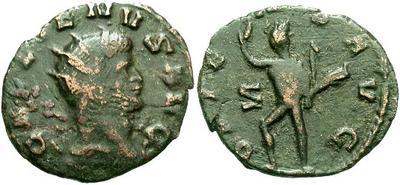 Antoniniano de Galieno. ORIENS AVG. Roma 11501.m