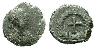 Teodosio II??  Valentiniano III??  Bonifacio??  Leon I??  13821.m