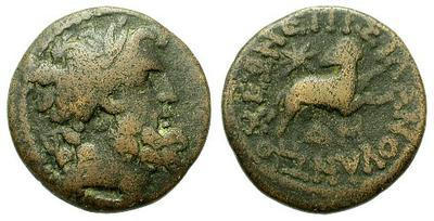GondoPHares - Tetradracma indo-parto de Gondophares-Sases 14108.m