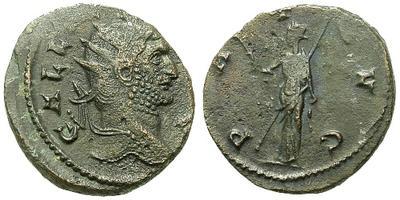 antoniniano de Claudio II año 268 - 270 15317.m
