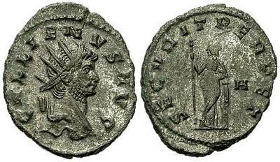 Antoniniano de Galieno. SECVRIT PERPET. Roma 19006.m