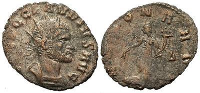 Antoniano de Claudio II. ANNONA AVG. Roma. 21395.m