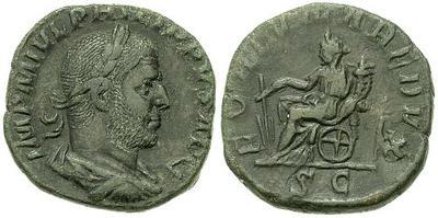 Sestercio de Filipo I. FORTVNA REDVX S C. Roma. 22804.m