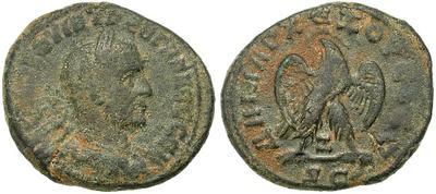 Tetradracma de Treboniano Galo. Antioquía 27951.m