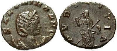 Antoniniano de Salonina. PVDICITIA. Roma 4823.m