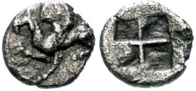 Óbolo de Abdera, Tracia. 5188.m