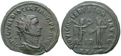 Antoniniano de Aureliano. RESTITVTOR ORBIS. Cycico  6007.m