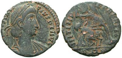 AE3 de Constancio II. FEL TEMP REPARATIO. Roma 6333.m