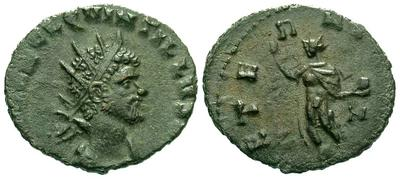 Antoniniano de Quintilo. AETERNIT AVG. Roma 875.m