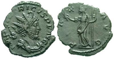 Antoniniano de Tetrico 908.m