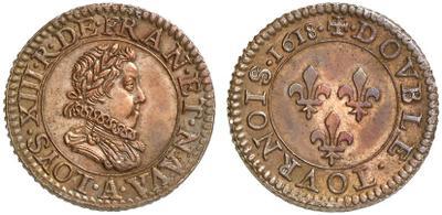 """Moneda Carlos VI de Francia """"El Rey Loco"""" 1032051.m"""
