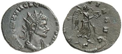 Antoniniano de Quintilo. VICTORIA AVG. Roma 2155767.m
