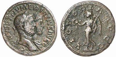Carus - Carinus - Numerien et Sol sur une même monnaie 408925.m