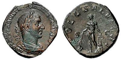 sesterce de Trebonien Galle ou Gallien ? 1193787.m