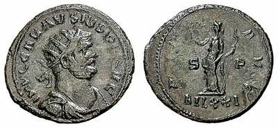 Antoniniano de Carausio. PAX AVG / MLXXI       1193859.m