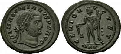 Nummus de Galerio. GENIO AVGVSTI. Cycico 1534606.m