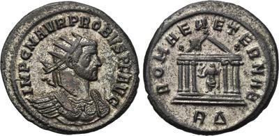 Aureliano (antoniniano) de Probo. ROMAE AETERNAE. Roma 1650064.m