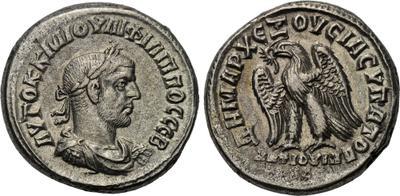 Tetradracma de Filipo I el Árabe 1660081.m