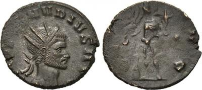 Antoniniano de Claudio II. GENIVS AVG. Roma. 1739777.m