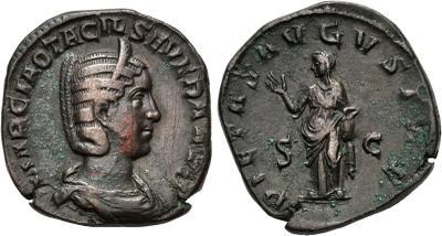 Trozo de Sestercio de Otacilia Severa. 1781862.m