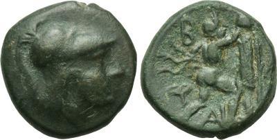AE12 de  Antígono II Gónatas. 1872553.m