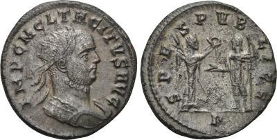 Aureliano de Tácito. SPES PVBLICA. Victoria y Emperador. 1943968.m