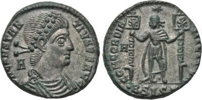 AE2 de Constancio II. CONCORDIA MILITVM.  Siscia. 2078745.m