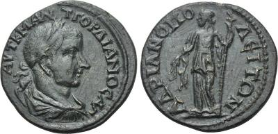 AΔPIANOΠOΛEITΩN de Gordiano III 2114041.m